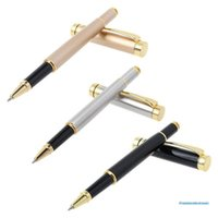 Ballpoint Pens Luxury Metal Pen Signature Black Ink Gel Stationery Office Supplies Business Gifts