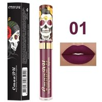 Cmaadu 6 Couleurs Mat Liquide Lip Lipe Gloss Imperméable longue durée Sexy Style Sexy Gloss Maquillage Beauty