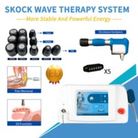 Style Shockwave Pain Relief Therapy Treatment Machine Shock Wave Acoustic Radial Relax Massage Equipment