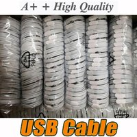 Cables for 5 8 X 11 12 generations OEM quality 1m 3ft USB Data Sync Charge phone 6 7 8x no box DHL 200pcs lot
