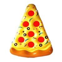 Надувной бассейн плавает трубы надутая пицца плавающий ряд крепления плавать кольцо Единорог Лебедь фламинго Единорог мультфильм популярные моды 88jr