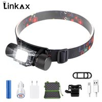 Headlamps USB Rechargeable LED Headlamp Headlight Torch Outdoor Super Bright Waterproof Camping Hunting Cycling Bike Head Lamp