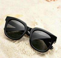 2022 FT 211 Fashion Cat Eye Vintage Rose Gold Mirror Mens Womans Sunglasses Metal Reflective Flat Lens Tourism Sun glasses Multi-color style
