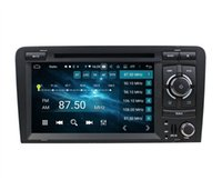 """CarPlay & Android Auto DSP 2 DIN 7"""" PX6 Android 10 Car DVD Stereo Radio GPS Navigation Bluetooth 5.0 WIFI for Audi A3 S3 RS3 2002-2008"""