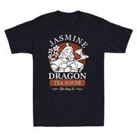 Jasmine Dragon Tea House BA Sing Se Uncle Iroh Vintage Mannen T-shirt Katoen Black Tee