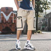 Men's Shorts Men Sweat Hip Hop Streetwear Summer Military Cotton Mens Bermuda M-XXXL 2021 Casual Cargo Track