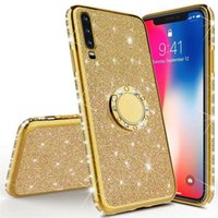3D Diamond Glitter Bling Cases For Samsung Galaxy S21 Ultra S20FE S 21 20 10 9 Plus fit iphone 12promax 11 pro xs max XR note20Ultra With phone ring