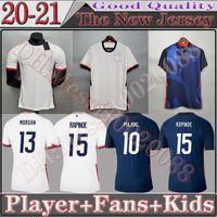2021 Футбольные трикотажки США 22 22 США Палисик Едлин Брэдли Национальная команда Wood Wood Dempsey AltiDore USMNT Футбольная футболка FSAN Player Version Kids Kit