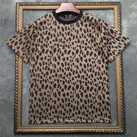 Polo Marcelo Barrett 남성 짧은 Mouwen T 셔츠 레오파드로 덮여 여성 티셔츠`124; Streetwear 2191001556.