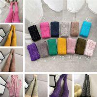 Carta de moda Imprimir medias para mujer medias para otoño e invierno Hosiery Designers Marca Leggings Leggings