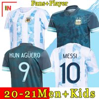 Argentina soccer Jersey Fans and player version 2021 Copa am...