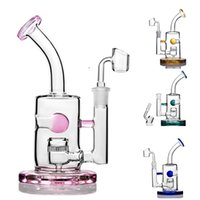 hookahs Water pipes beaker Bong Dab Rigs Thick Concentrate Oil dabber Colorful Glass Bongs