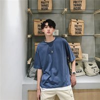 T Shirt Estate Fashion Brand FAKE DUE T-shirt Breve T-shirt Abbigliamento da uomo Abbigliamento da uomo Abbigliamento in mezzo a mezza manica