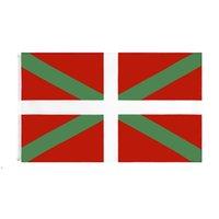 Bask Natinal Bayrak Perakende Doğrudan Fabrika 3x5fts 90x150 cm Polyester Afiş Kapalı Açık Kullanım Tuval Başkanı ile Metal Grommet DWB9349