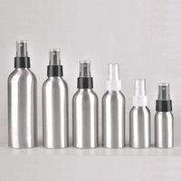30 ml / 50 ml / 100ml / 120ml / 150 ml Taşınabilir Alüminyum Sprey Şişeleri Parfüm Boş Doldurulabilir Pompa Atomizer Mist Seyahat Makyaj Şişesi