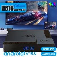 Allwinner H616 안드로이드 TV 박스 4G DDR3 32 / 64GB EMMC 세트 상단 수신기 WiFi Android9.0 SmartTV