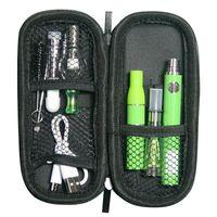 MOQ 5PCS Autêntico Evod Dab Pen Kits 510 Cartucho de Óleo 4 em 1 Bateria Elétrica VAPER Starter Kit UGO V II Vaporizador de cera Micro USB Pass através de canetas Vape