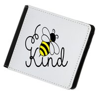 PU Leather Sublimation Wallet Blank DIY Money Bag Single Sided-white Coin Purse Heat Transfer Passort Holder