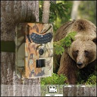 Sports & Outdoors Outdoor Hunting Cameras 12Mp Wild Animal Detector Trail Camera Hd Waterproof Monitoring Infrared Heat Sensing Night Vision