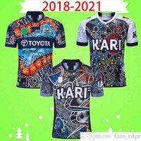 2019 2020 2021 Indígena Rugby League Jersey Rugby League League Camisa Top Uniforme Polo T-shirt Top uniformes 18 19 20 21 Clube indígena Todas as estrelas