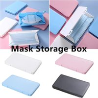 Jewelry Pouches, Bags Lightweight Portable Outdoor Plastic Thin Reusable Moisture-proof Mask Storage Box
