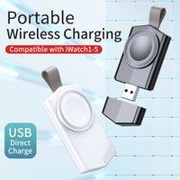المحمولة شاحن لاسلكي مغناطيسي iwatch USB شحن حوض ساتيو شحن كابل ل أبل ووتش 4 5 6 SE سلسلة
