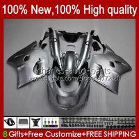 Тело для Kawasaki Ninja ZX-11 R ZZR-1100 ZX-11R ZX11R 90 91 92 93 94 95 30HC.15 Глянцевый серебристый ZZR 1100 CC ZX 11 R 11R ZX11 R ZZR1100 1996 1997 1998 1999 2000 2001