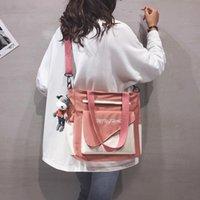 Evening Bags 2022 Canvas Handbags Women Designer Japanese Tooling Shoulder Bag Female Student Korean Tide Brand Crossbody Luxury