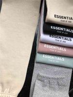 Ter 2021 Korku Tanrı Sweatpants Sis Essentials Pantolon Erkek Rahat Uzun Fleeced Pantolon Pantolon Erkekler Kadınlar Kalça H