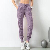 2021 Nuovo Approval Womens Canada Yoga Pantaloni Yoga Pantaloni Pantaloni Pantaloni Buoni Pantaloni sportivi classici in fibra Pantaloni sportivi Joggings Dance Accatasta