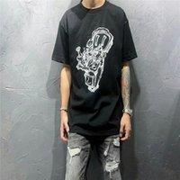 2021 diseñador de moda para hombres Cuello redondo Camiseta de algodón transpirable europeo y americano de alta calidad de alta gama Tshirt S-2XL Lovers Carta de manga corta