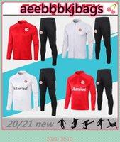 2021 SC Internacional Futebol Tracksuit Jaqueta de futebol Camisas de Futebol Long puxar Zipper Treinamento Terno Chandal
