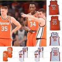 Benutzerdefinierte Syrakus Orange NCAA College Buddy BoEHEIM Carmelo Anthony Elijah Hughes Brycen Goodine Marek Dolezaj Brendan Paul Coleman Basketball-Trikots