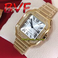Eternity Lady Relógios BVF V2 Versão de Atualização 0010 Silver Dial Japão Miyota 9015 Automático Womens Watch Diamond Inliber Bezel Ouro Caso SmartLink Quickswitch Strap