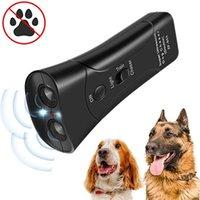 ترقية بالموجات فوق الصوتية led مكافحة النباح الأجهزة الكلاب التدريب مبيد سونيك مكافحة النباح وقف النباح جهاز كلب مدرب الكلب أداة GQ4045