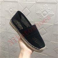 Black Mesh Stickerei Frauen Schuhe Seilsohle mit Stern Glückssymbol Lässig Sneaker Runner Granville Espadrille Freizeitschuh