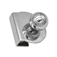 Handles & Pulls Showcase Pull Knob Easy Install Clamp Furniture Hardware No Drilling Smooth Kitchen Accessories Home Decor Glass Door Handle