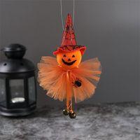 Party Saciosts Хэллоуин украшения висит тыква призрак ведьма кошка кукла кукол Host House Bar орнаменты 877 B3