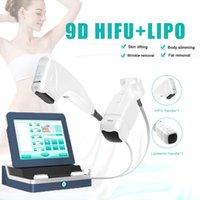 9D HIFU lipo body slimming skin lifting machine 21,000shots each cartridges liposonix equipment