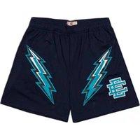 Moda EE Marka Eric Emanuel Temel Kısa NYC Skyline Spor Sweatpants Şort erkek Yaz Spor Egzersiz Nefes Rahat Basketbol Pantolon