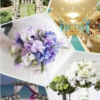 Hauteur 50 pcs faux soie artificielle rose têtes de fleur bourgeons bricolage bouquet home maison mariage décor de mariage fournitures LG66 Couronnes de fleurs décoratives