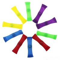 Party Favor Colorful Mesh Grid Belt Fidget Toys Strong Marble Fidgets Squeeze Squishy Relieves Stress Decompression Toy