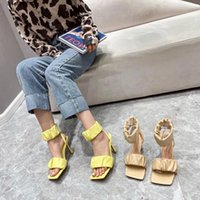 여성 샌들 하이힐 여성을위한 검은 신발 큰 크기 버클 Espadrilles 플랫폼 소녀 높은 굽의 베이지 색 큰 폐쇄 com for dress
