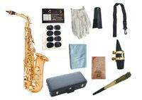 Марка качества музыкальных инструментов Юпитер JAS-769 Alto EB Саксофон профессиональный латунный золотой лак SAX для студентов с корпусом, аксессуарами
