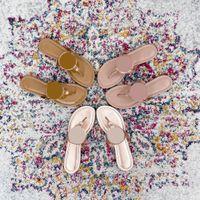 Mulheres Sandálias Flat Chinelos Sandália Sandália Menina Sapatos Novo Arrivel Jelly Plataforma Slides Lady Flip Flops com Box 35-41