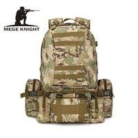 Sacs Duffel Mege Knight Marque Voyage militaire Camouflage Sac à dos Multi-fonction GRAND CAPACITE Equipment équipement