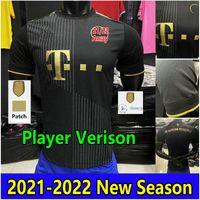 2021 2022 Sane Fussball Jerseys Spieler Version 7 Gnabry Müller Home Away 3. Jersey 20 21 Lewandowski Hernandez Davies Musiala Costa Football Uniform Maillot de Futol