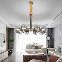 Pendant Lamps Nordic Color Cord Light Chandeliers Ceiling Bathroom Fixture Living Room Decoration Lamparas De Techo Hanglampen