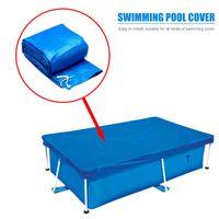 Pool & Accessories Swimming Cover PE Waterproof Tarpaulin Floor Mat Tub Insulation Anti-dust Protection Outdoor Blanket