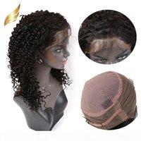 ديب مجعد موجة 360 الدانتيل الباروكة البرازيلي عذراء الشعر 130٪ 150٪ 180٪ الكثافة ريمي الشعر البشري الباروكات مجعد بيلا الشعر julienchina